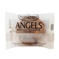 Wedgewood Angels Nougat Biscuits Chocolate