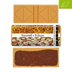 Schokolade drunter & drüber - Karamell + Erdnuss