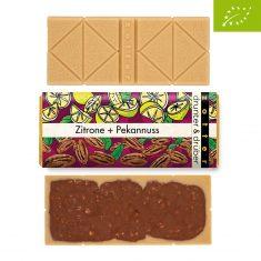 Schokolade drunter & drüber - Zitrone + Pekannuss