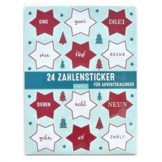 Adventskalendersticker - Sterne, arsEdition