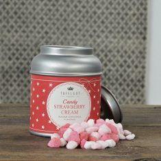 Tafelgut - Candy Strawberry Cream, Hagelzucker