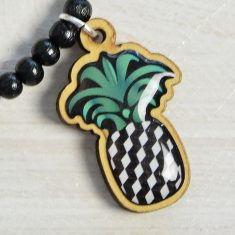 WoodPin Armband - Ananas