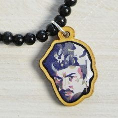 WoodPin Armband - George Michael