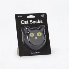 Socken one size - Cat Socks, schwarz