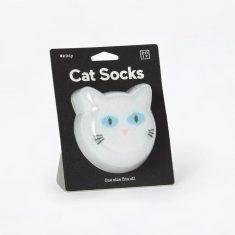 Socken one size - Cat Socks, weiß