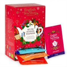 English Tea Shop - Kleiner Bio-Tee Adventskalender, rot