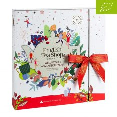 "English Tea Shop - Teebuch Adventskalender ""Wellness"", bio"