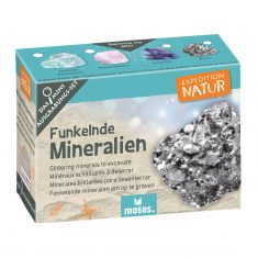 Expedition Natur, Mini-Ausgrabungsset - Funkelnde Mineralien