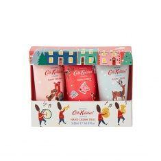 Cath Kidston Christmas Village - Handcreme, 3er Set