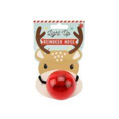 Leuchtende Rentiernase - Light Up Reindeer Nose