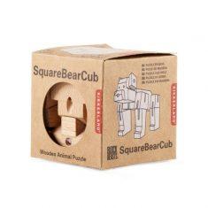 Holzpuzzle - SquareBearCub