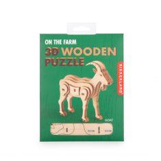 3D-Holzpuzzle - Goat