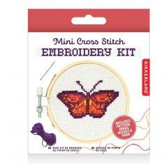 Mini Stickset - Embroidery Kit, Butterfly