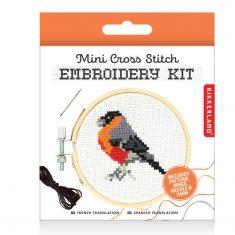 Mini Stickset - Embroidery Kit, Bird