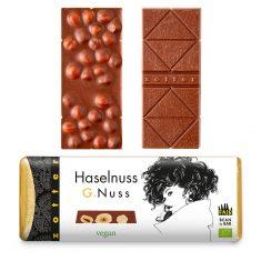 Schokolade G.Nuss - Haselnuss, vegan