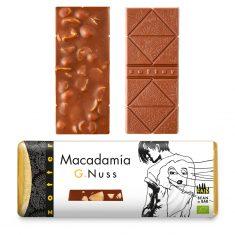 Schokolade G.Nuss - Macadamia