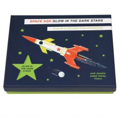 Glow in the dark Sterne - Space Age, 30 Sterne