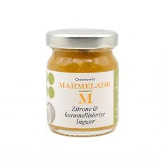 Greenomic Marmelade - Zitrone & karamellisierter Ingwer