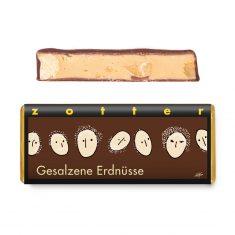 Schokolade - Gesalzene Erdnüsse