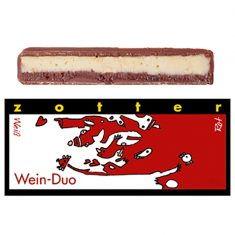 Schokolade - Wein-Duo Rot Weiß