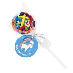 Haargummi-Lollipop - Unicorn