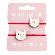 Haargummis - Cookie the Cat
