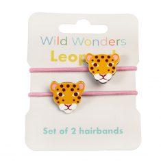 Haargummis - Wild Wonders Leopard