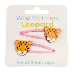 Haarspangen - Wild Wonders Leopard