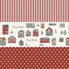 Ib Laursen - Geschenkpapier Merry Christmas, 3 Rollen im Set