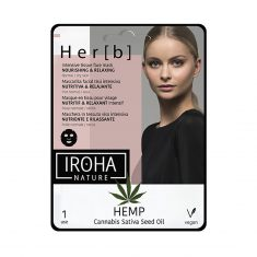 Iroha Nature - Nourishing & Relaxing Tissue Face Mask