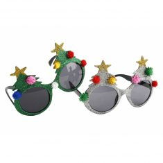 Spaßbrille - Christmas Tree
