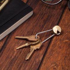 Messing-Schlüsselanhänger - Twist & Lock