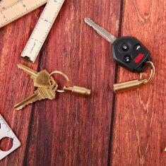 Messing-Schlüsselanhänger - Valet
