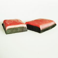 Karamellbissen - Himbeer  & salzige Lakritz