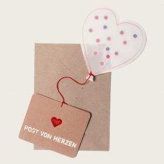 Herzballonpost - Post von Herzen