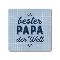 Korkuntersetzer - Papa