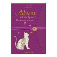 Lesezauber: Advent auf Samtpfoten - Briefbuch zum Aufschneiden