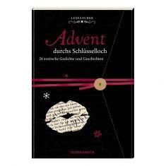 Lesezauber: Advent durchs Schlüsselloch - Briefbuch zum Aufschneiden
