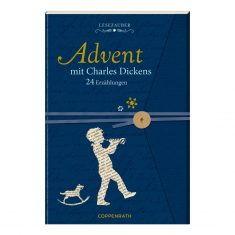 Lesezauber: Advent mit Charles Dickens - Briefbuch zum Aufschneiden