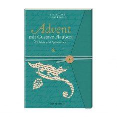 Lesezauber: Advent mit Gustave Flaubert - Briefbuch zum Aufschneiden