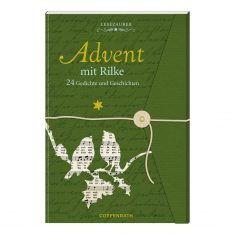 Lesezauber: Advent mit Rilke - Briefbuch zum Aufschneiden