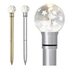 Leuchtender Kugelschreiber - Rentier