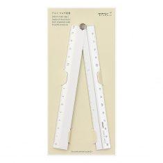 Lineal - Multi Ruler 30 cm silber, Midori