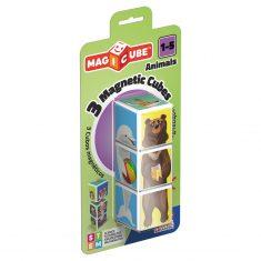 MAGICUBE - Animals, 3 Magnetwürfel