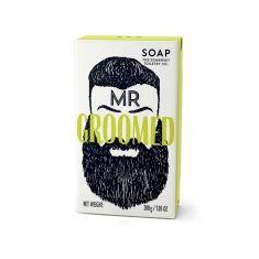 Mr. Groomed, Beard Soap mit Zedernholz- und Zitronengrasduft