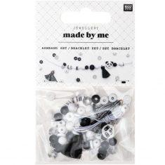 Made by Me Perlen Armband Set - Panda