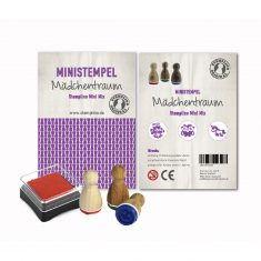 Mini Stempel - Stempelset 3er, Mädchentraum