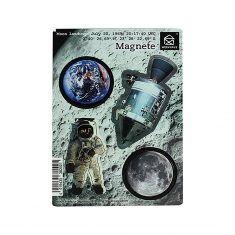 Magnete - Mondlandung, 4er Set