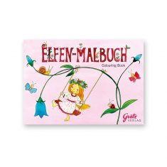 Malbuch - Elfen