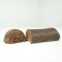 Marzipanbrot mit Rumschokolade